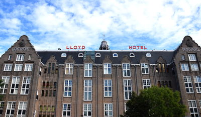 Lloyd Hotel, home for migrating people