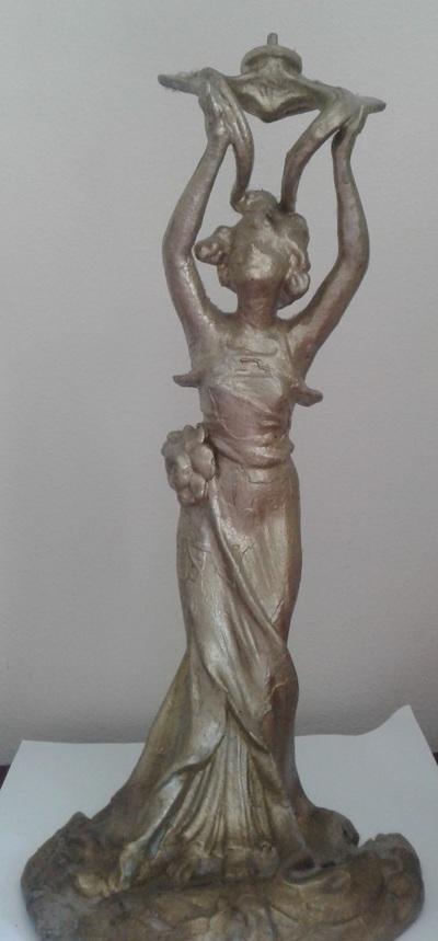 Statueta americana norocoasa a bunicului   Johann